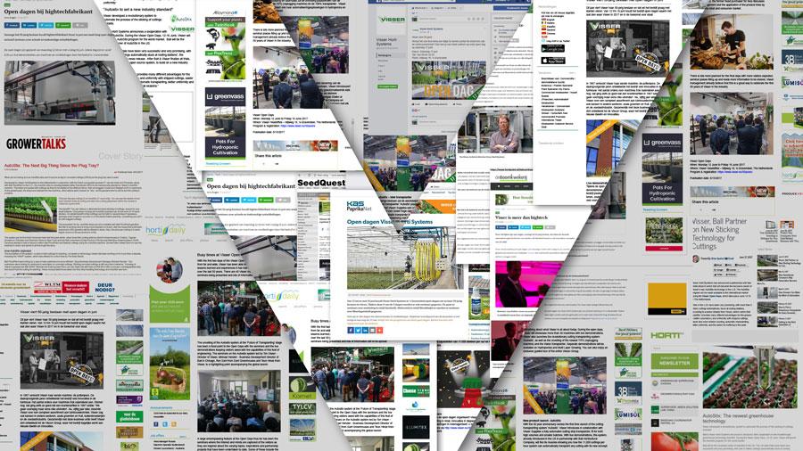 Visser Horti Systems in the media